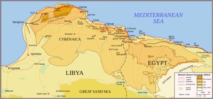 Western Desert Battle Area