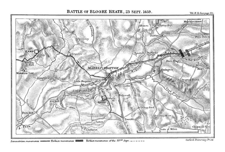 Map of Battle