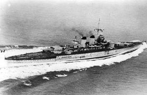 Modern Italian Battleship Littorio : Completed May, 1940