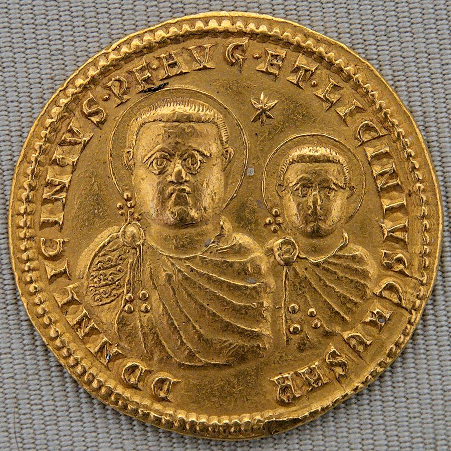 Licinius and son