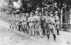 German Reservists in Rabaul