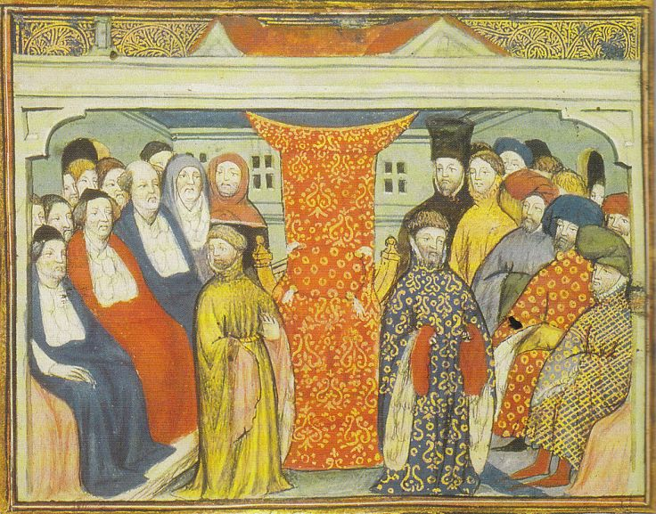 Henry of Bolingbroke claims the throne