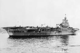 Aircraft Carrier HMS Illustrious 1940