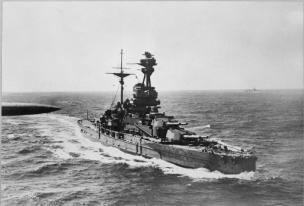 Battleship HMS Revenge