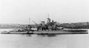 Battleship HMS Valiant 1940