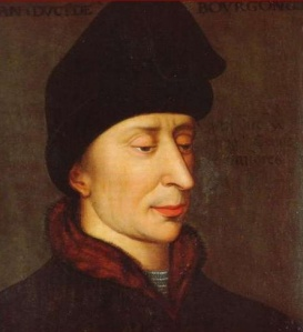 John the Fearless Duke of Burgundy