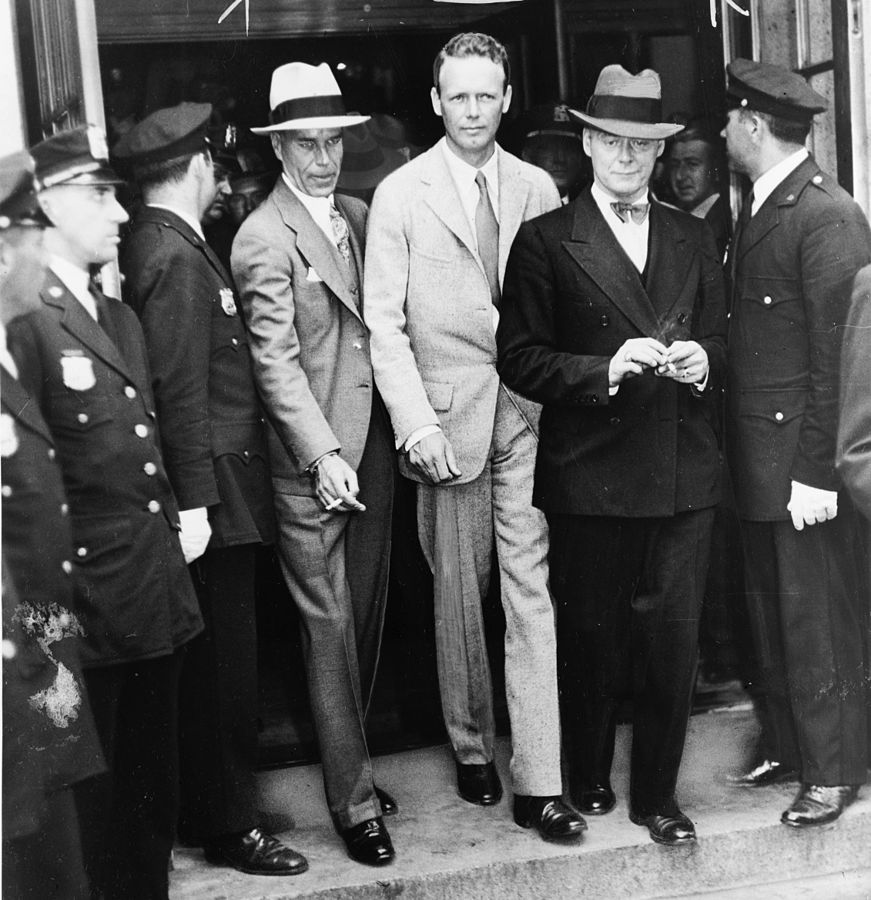 1934 Bruno Hauptmann Arrested For Lindbergh Kidnapping