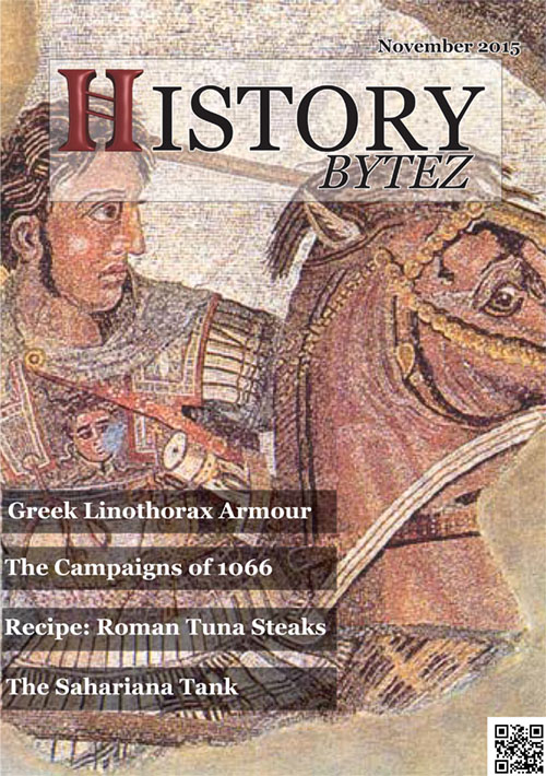 History Bytez magazine cover