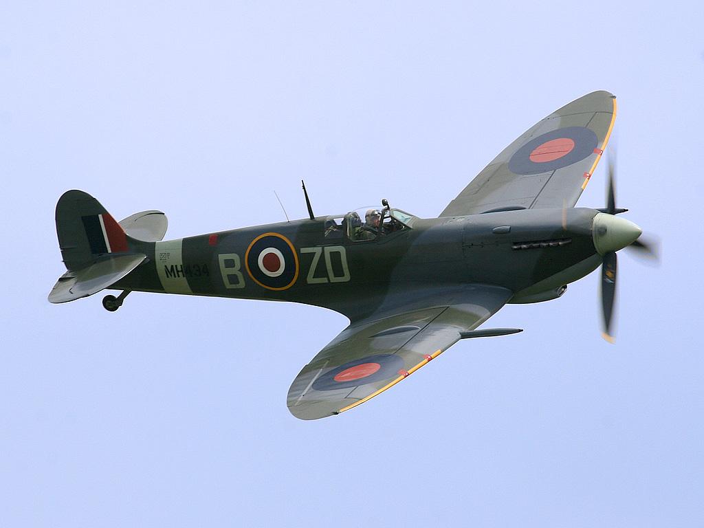 Spitfire fighter plane