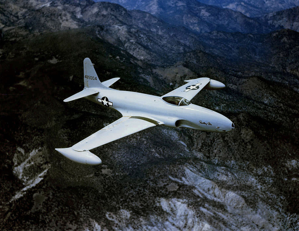 Image result for Air Force Lt. Russell J. Brown shot down a North Korean MiG-15.