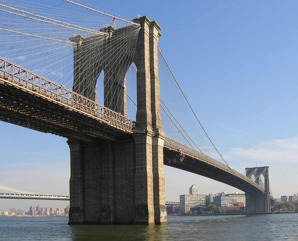 1870 – Construction of the Brooklyn Bridge begins ...