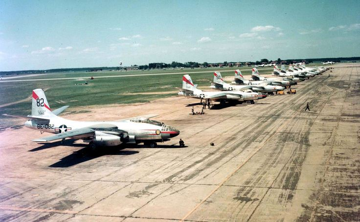 47th_Bombardment_Wing_-_B-45_tornadoes